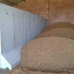Separadores de grano. Hormigón